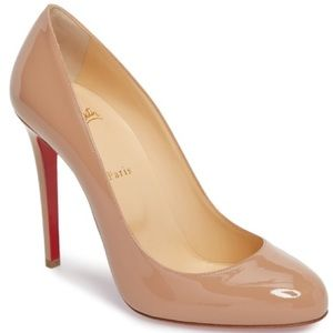 Christian Louboutin Fifille Round Toe Pump 37 1/2